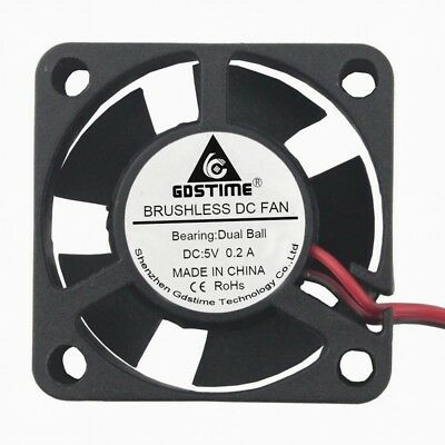 Dual Ball Bearings 30mm x 10mm DC Brushless Cooling Fan GDSTIME 24V 30mm Fan