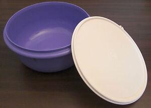 Tupperware-B-11-Pengschuessel-3-l-Peng-Ruehrschuessel-Deckel-lila-violett-Neu-OVP