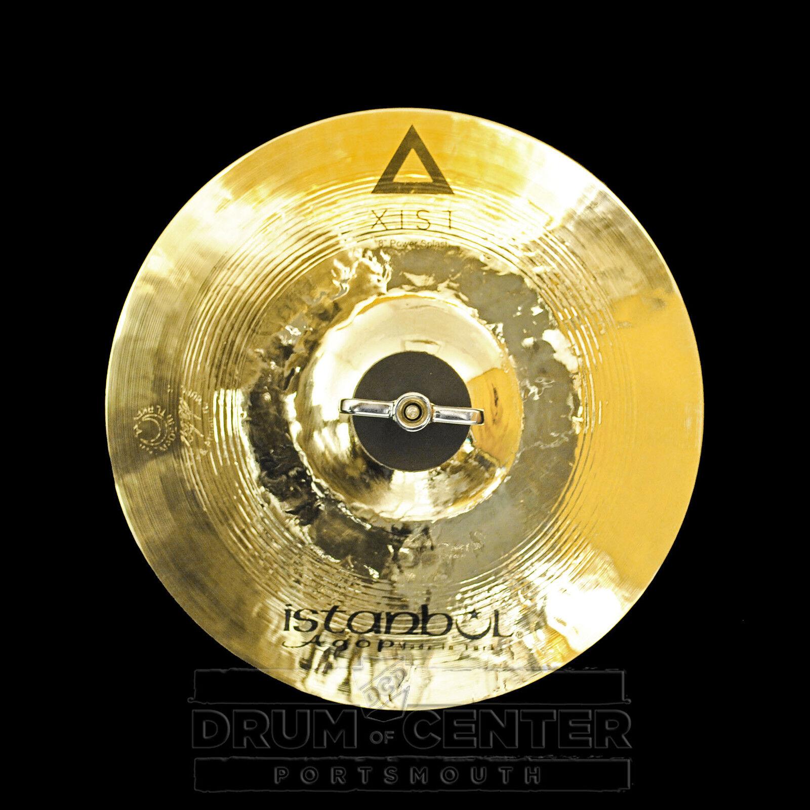 Istanbul Agop Xist Power Splash Cymbal 8  - Video Demo