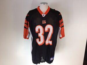 Image is loading Cincinnati-Bengals-Rudi-Johnson-NFL-Football-Reebok-Jersey- 8eddd8933