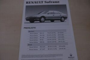 205144-Renault-Safrane-Preisliste-amp-Extras-Prospekt-03-1993