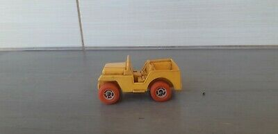 Viking Plast 4 Plastic Yellow Jeep Car Toy Used Sweden Art No 222 Vintage Ebay