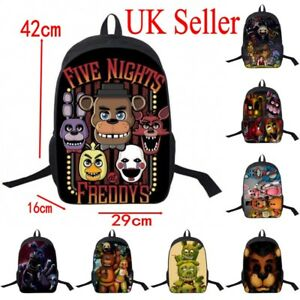b004899723 UK Sale Five Nights at Freddy s Rucksack Kids School Nylon Bag ...