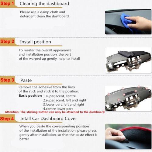 Car Dash Mat Dashboard Cover DashMat Carpet For Honda CR-V CRV 2002-2005 2006