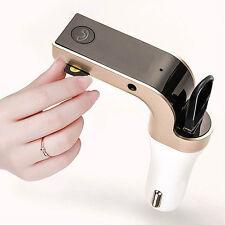 Bluetooth Car Kit Handsfree FM Transmitter Radio MP3 Player USB Charger AUX