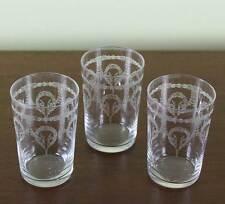 Set of 3 Charming Vodka Medium Glass