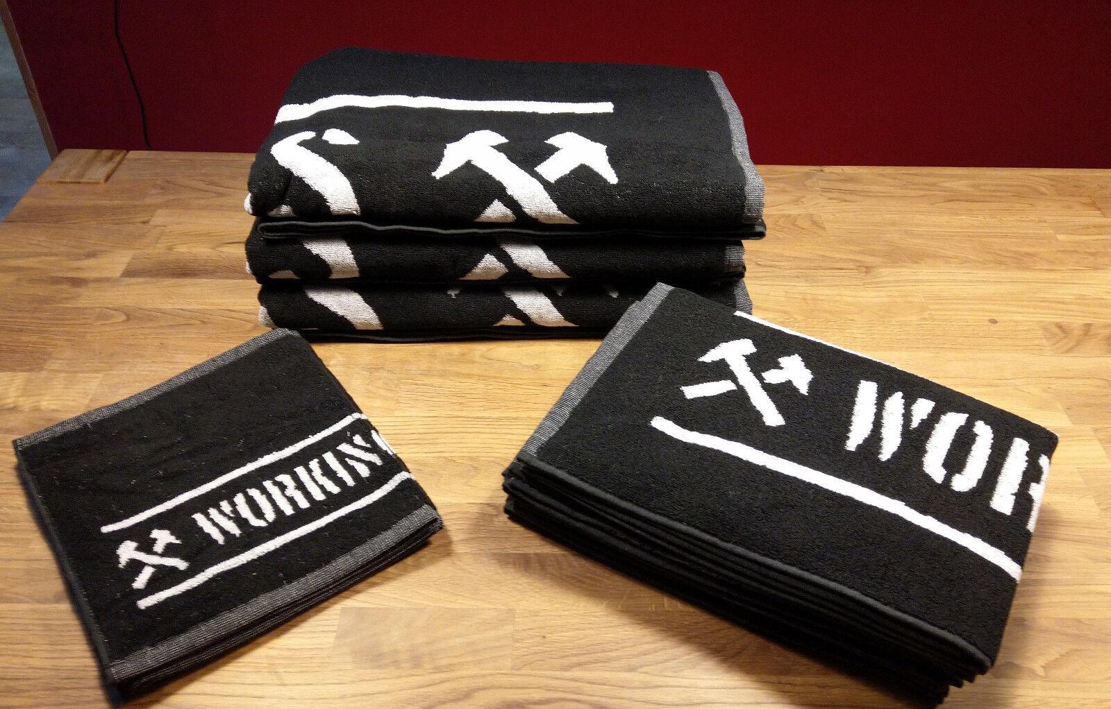 Set of 3 towels  Handtuchset, 3 versch. Größen 100% 100% 100% Baumwolle  Working Class  | In hohem Grade geschätzt und weit vertrautes herein und heraus  ef9121