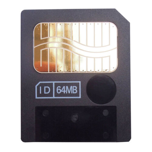 64 MB MEG SMART MEDIA SM MEMORY CARD OLYMPUS C-3040 3100 4000 40 ZOOM CAMERA T3