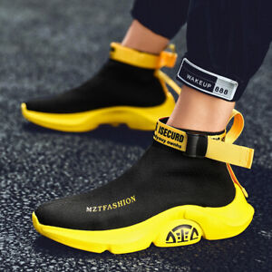 sock casual shoes high top sports sneakers athletic fly