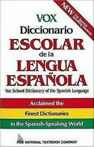 Vox-Diccionario-Escolar-de-la-Lengua-Espanola-by-Ntc-Publishing-Group
