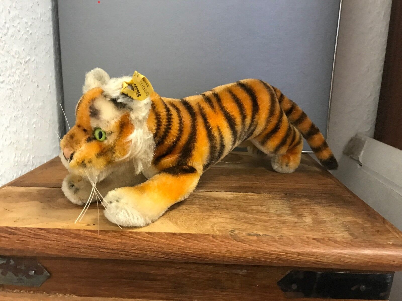Steiff Animal 0900 14 Tiger 24 Cm. Top Condition
