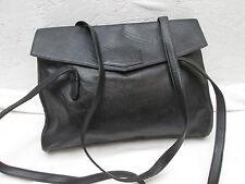 AUTHENTIQUE sac à main GIANFRANCO FERRE  cuir  TBEG vintage bag A4