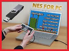Nintendo - NES Classic Mini - Windows PC / USB Flash Drive + USB Gamepad