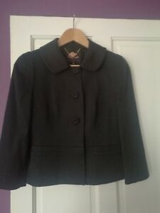 Black With Jacket Uk10 Phase New Tags Eight ZqU7w7