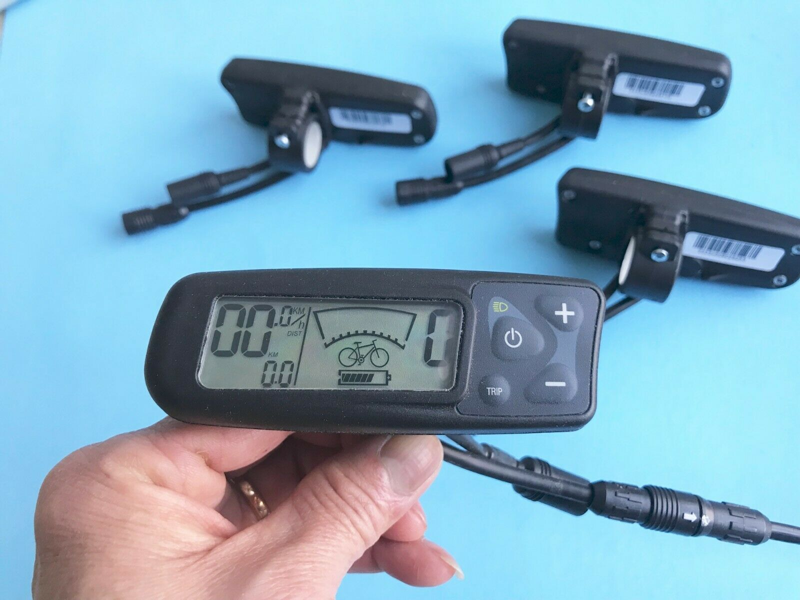 Bionx G1 Display LCD Console Without  throttle Bar clip  , MPN  2333