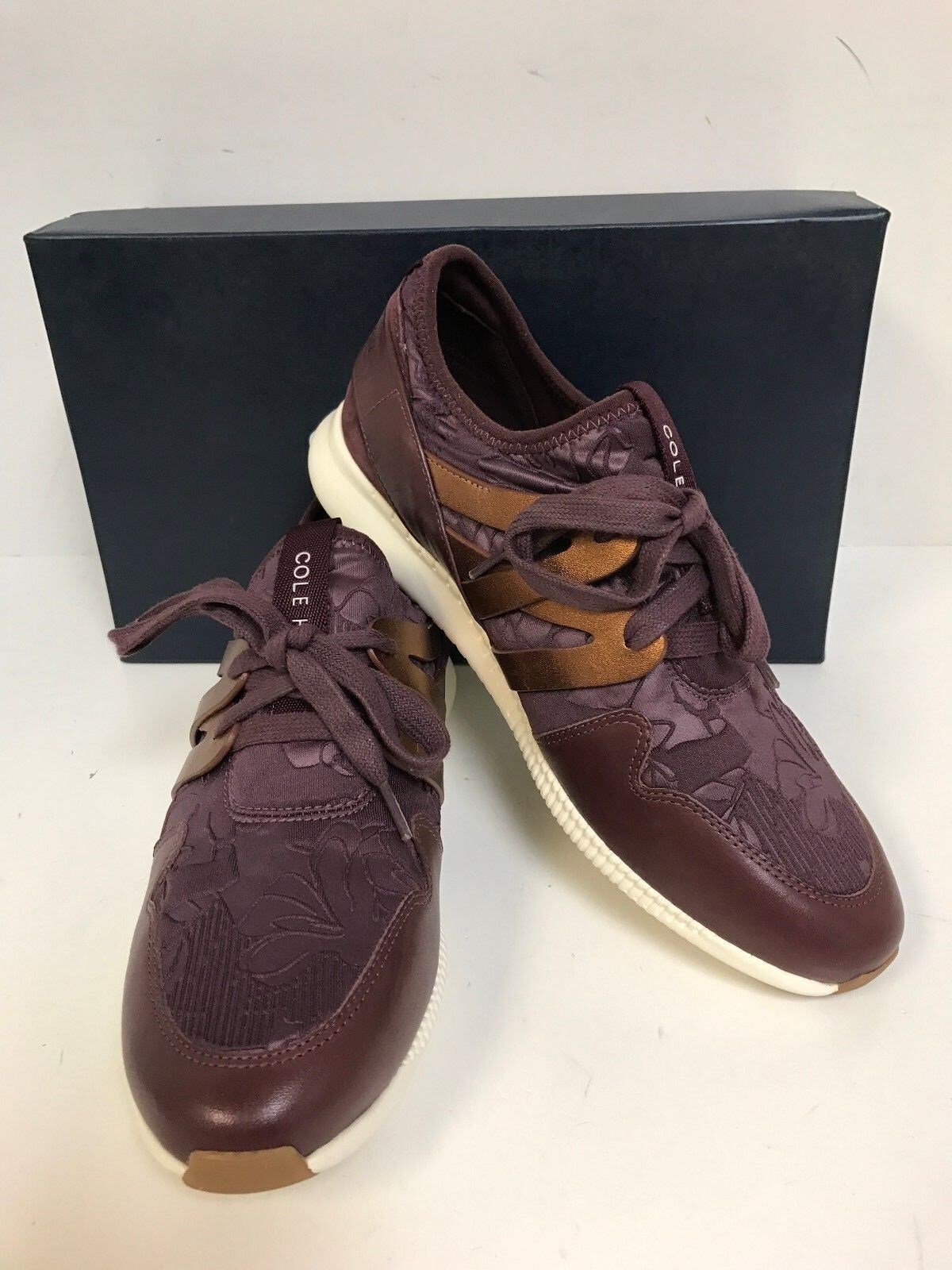 Cole Haan W04208 2.0 Studiogrand Trainer Berry Floral Oxford Donna