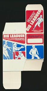 1979 Hostess Big Baseball Cards Organizer And Checklist Rare