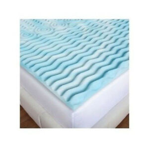 mattress topper 2 inch pad for memory foam or mattress twin full queen king new ebay. Black Bedroom Furniture Sets. Home Design Ideas