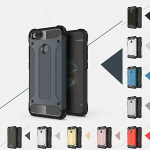 reputable site bbac3 d5be8 Details about For Xiaomi Mi A1 Max 2 Redmi 4X Hard Armor Shockproof  Silicone Case Cover
