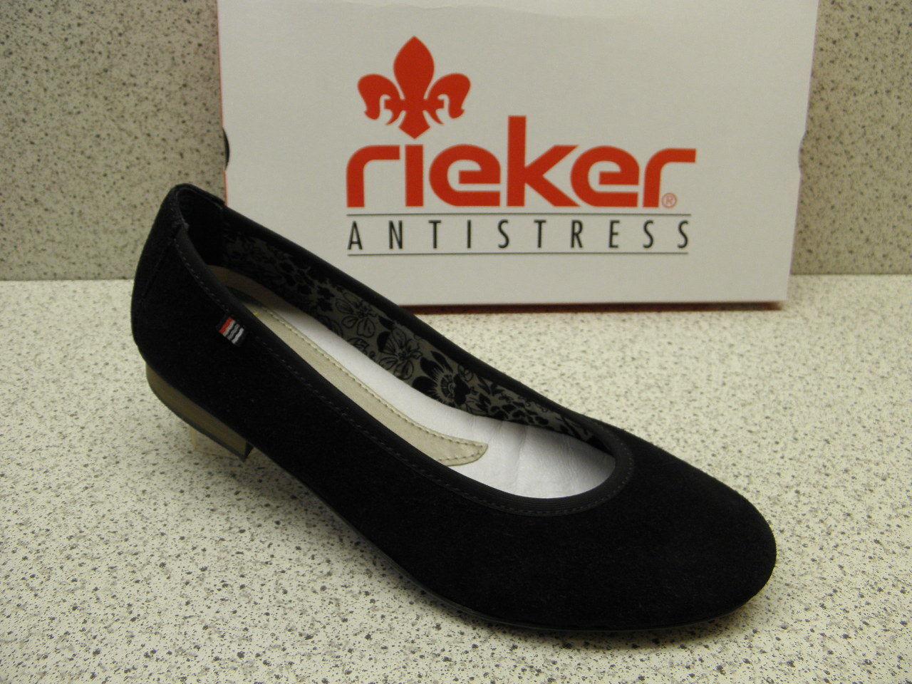 rieker ® ROTuziert Top Preis  Ballerina Schuhe   (R422)