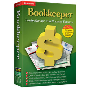 Avanquest Bookkeeper 15 Create Invoices Check,analyze Data Accounting,banking