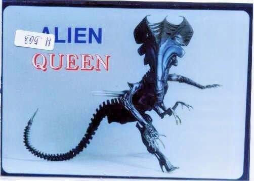 10 QUEEN ALIEN Sci-Fi Thriller Movies Vinyl+Resin Model Kit 1 12