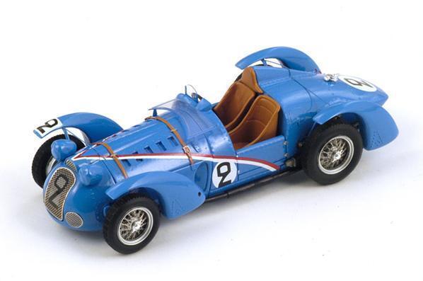 Delahaye 145  2 Comotti-Divo   Le Mans  1938 (Spark 1 43   S2726)  branché