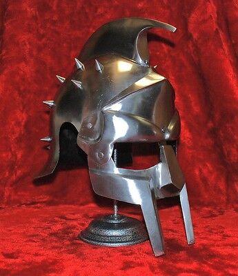 Medieval Roman Gladiator Helmet of Maximus Decimus Meridius Armor Helm LARP