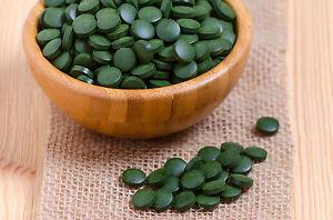 4x-500g-Tabletas-De-Espirulina-tabs-COMPRIMIDOS-100-Puro-Forro-Super-Alimentos