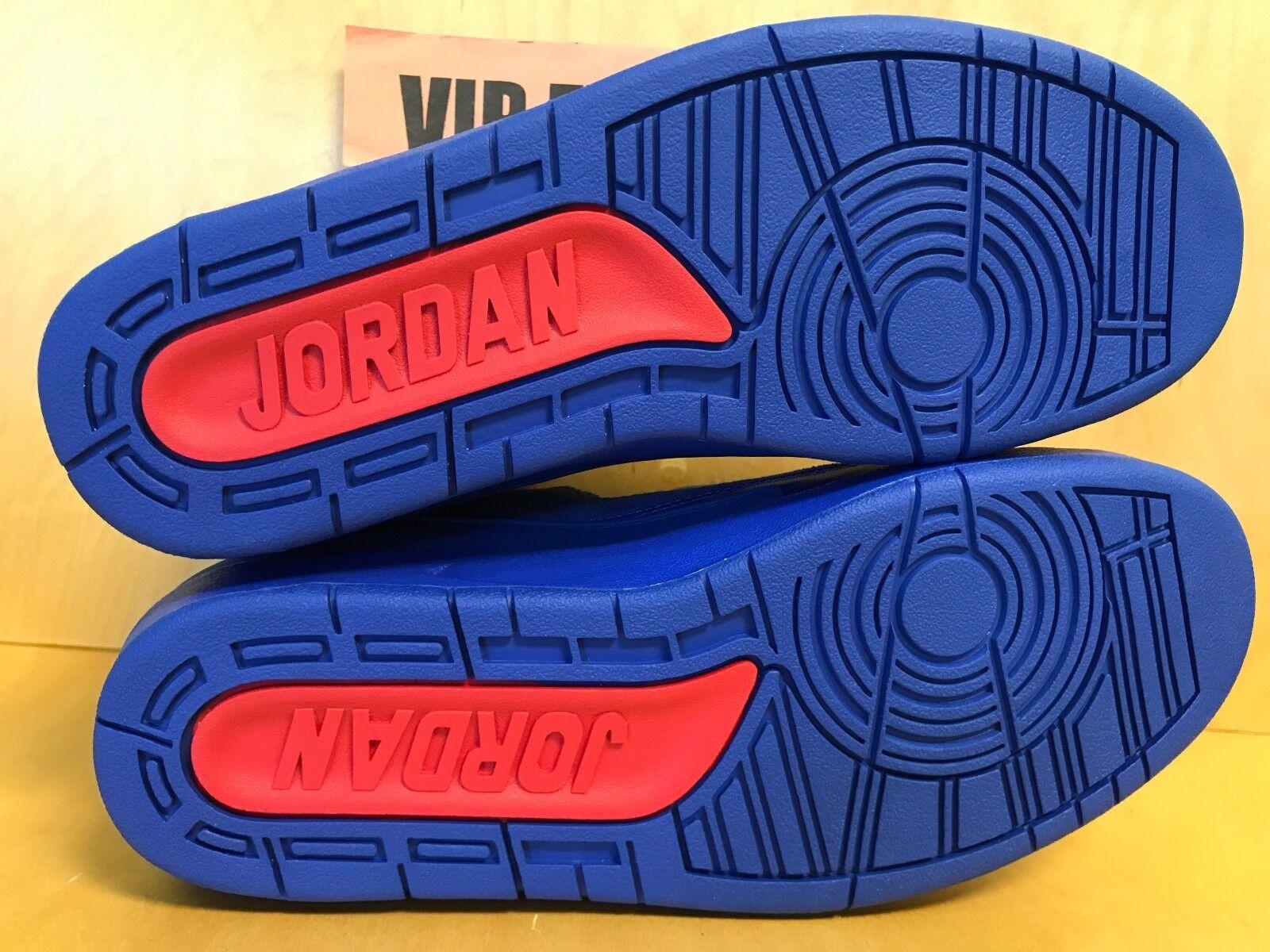 nike air jordan 2 retro - blauen ii - c - blauen - 717170-405 - die seltenste farbe 79814b