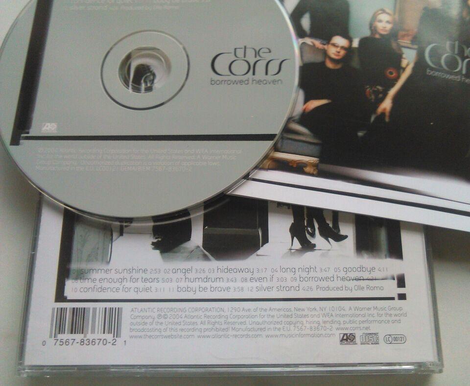 The Corrs: 2 CD'er – Stk. 22 kr. begge 35 kr., rock