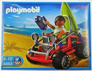 PLAYMOBIL-4863-Strandbuggy-NEU-NEW-OVP