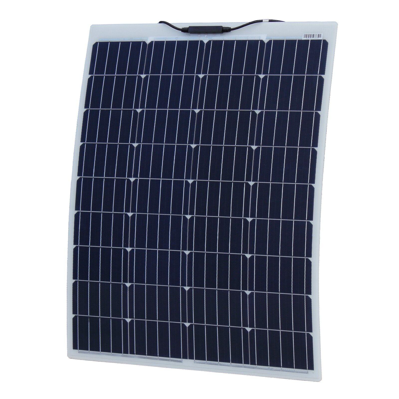 100W Reinforced semi-flexible solar panel with ETFE coating (German solar cells)