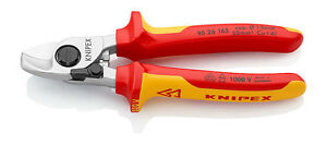 Knipex-VDE-Kabelschere-95-26-165-bis-15mm-Kabel-9526165-cable-cutter