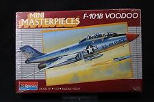 YE078 MONOGRAM 1/72 maquette avion 5006 F-101B Voodoo Mini Masterpieces F101B