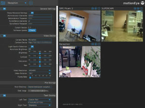 Details about MotionEye OS SD card for Raspberry Pi 3 camera surveillance  system simple setup