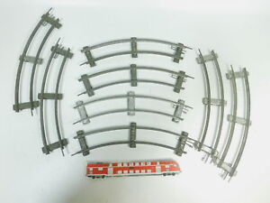 bk351-1 #8X Märklin voie 0 voie 8 pièces / 8 ER cercle courbé pour