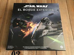 STAR WARS: El Borde Exterior - juego de mesa - Fantasy Flight Games Ed. Español