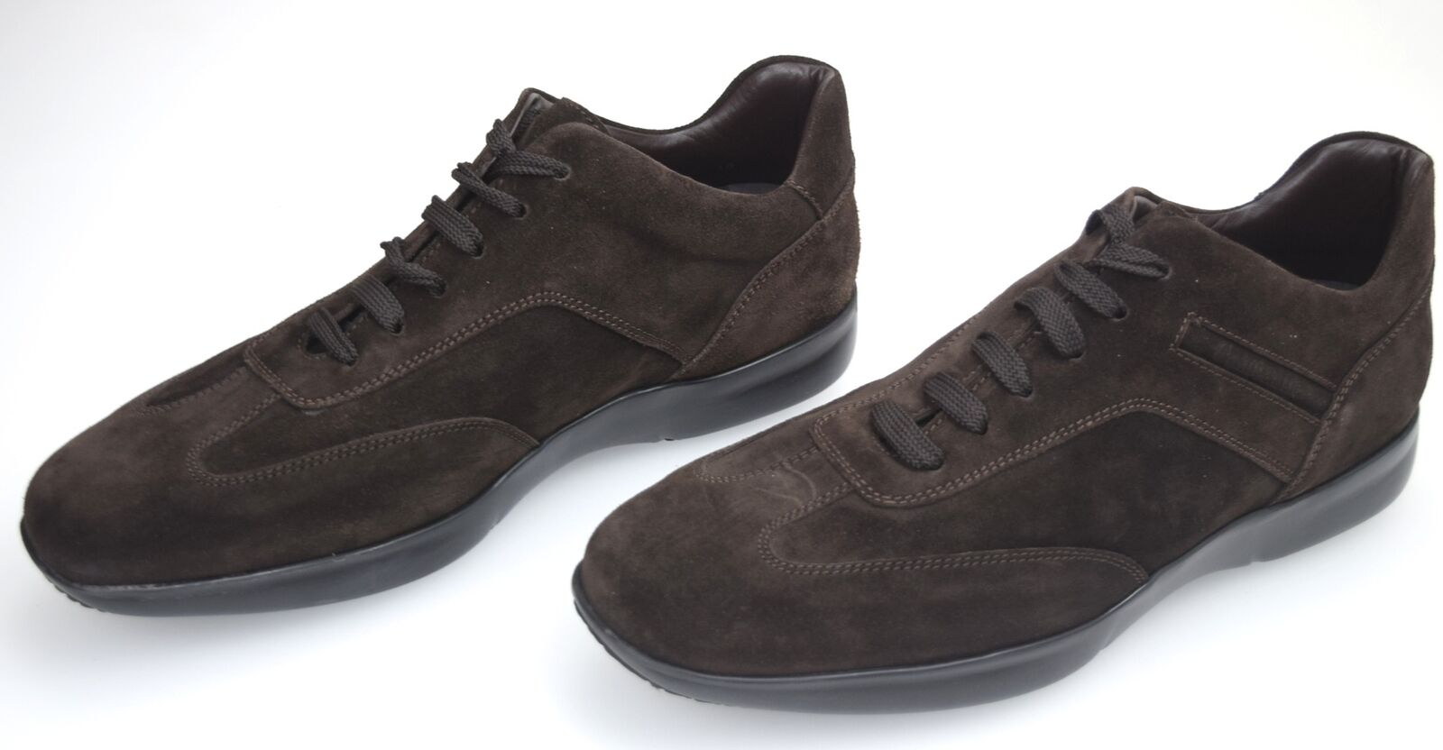 CAMPANILE MAN CASUAL FREE TIME SNEAKER SHOES SUEDE CODE SP16 GINNICA LACCI OR