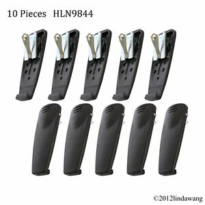 Lot 10 HLN9844 Belt Clip for Motorola HT750 HT1250 HT1550 GP388R Portable Radio