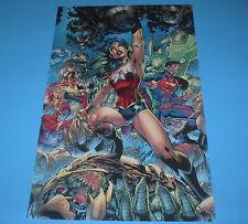 DC COMICS JUSTICE LEAGUE 52 WONDER WOMAN POSTER PIN UP