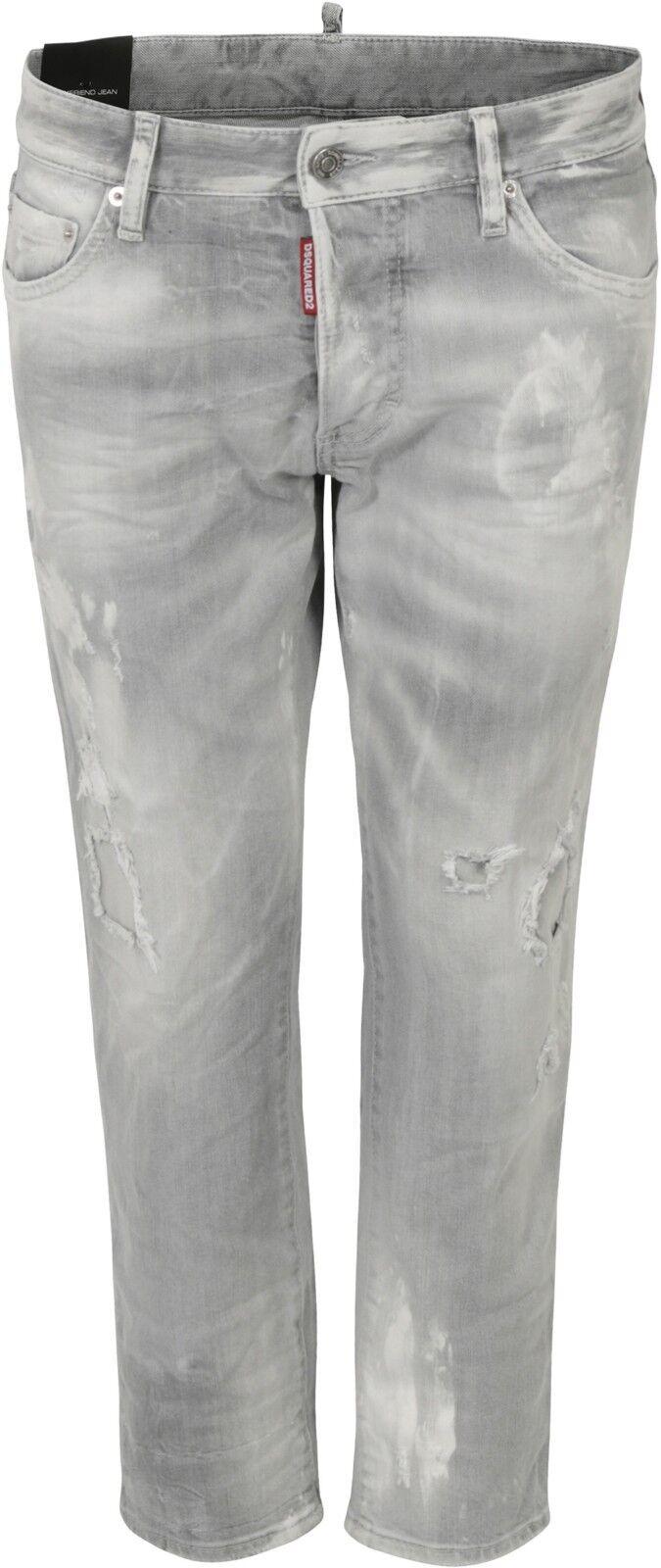 DSQUARED D2 Jeans BOYFRIEND JEANS DENIM GR IT 44 D 38 GREY NEU 66388