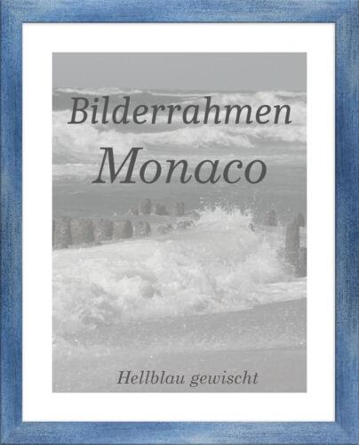 Bilderrahmen Monaco 26x72 cm Foto Poster Puzzle Galerie 72x26 cm