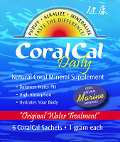 3 Pack Coralcal Daily Calcium 90 Sachets Sea Minerals Packets Coral Cal Water Ph