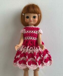 Clothes-for-Tiny-Betsy-McCall-8-034-Tonner-Doll-Handmade-USA-Dress-Lot-TB-18-Pink