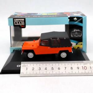 IXO-1-43-Scale-Citroen-2CV-Baby-Brousse-1971-Ivory-Cast-Diecast-Models-Toys-Car