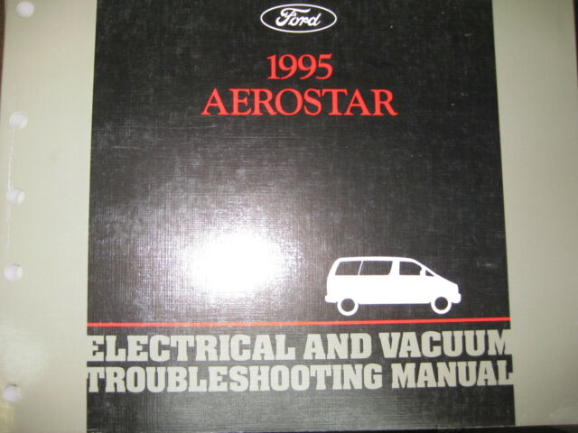 1995 Ford Aerostar Wiring Diagrams Repair Service Manual