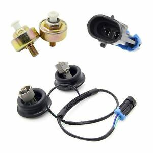 Knock Sensors With Harness Connectors for Cadillac Chevy GMC ...