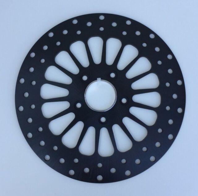 DNA 11.5 Black Super Spoke Rear Brake Rotor For Harley