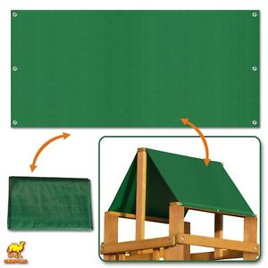 43 X92 Waterproof Replacement Canopy For Backyard Wood Playset